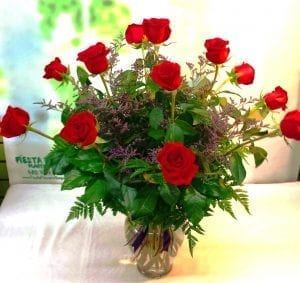 SAME DAY DELIVERY Fiesta Classic Dozen Roses