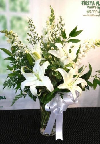 SAME DAY DELIVERY All White Tribute