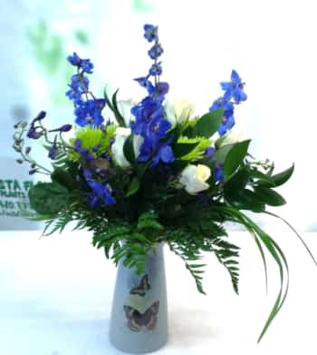 SAME DAY DELIVERY Butterfly Fields Bouquet