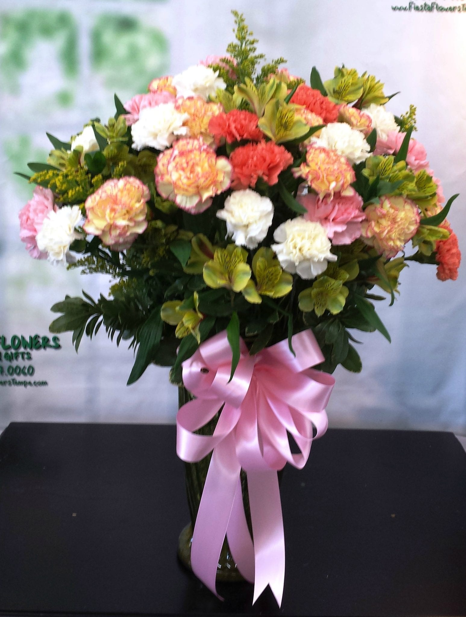SAME DAY DELIVERY Carnation Lovers Bouquet