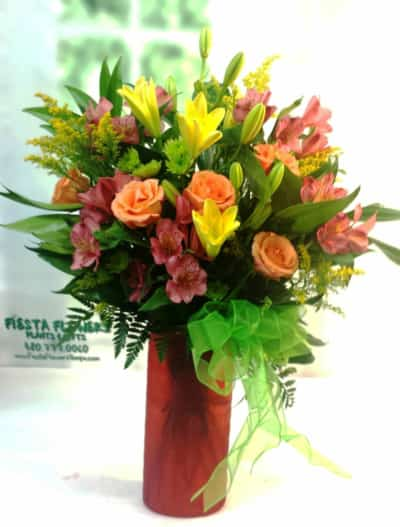 SAME DAY DELIVERY Cheerful Rainbow Bouquet