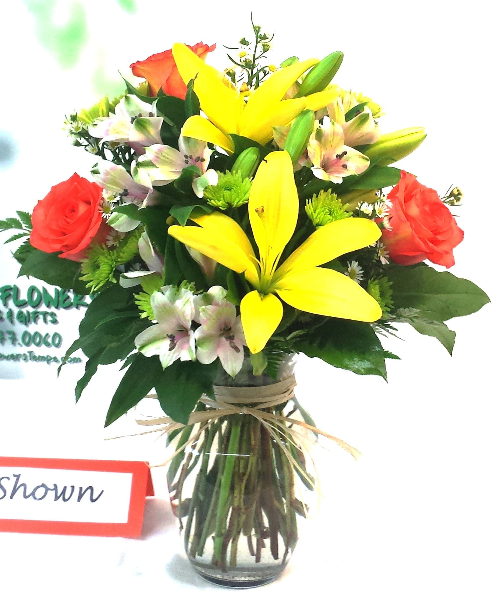 SAME DAY DELIVERY Fiesta Fields of Flowers Bouquet