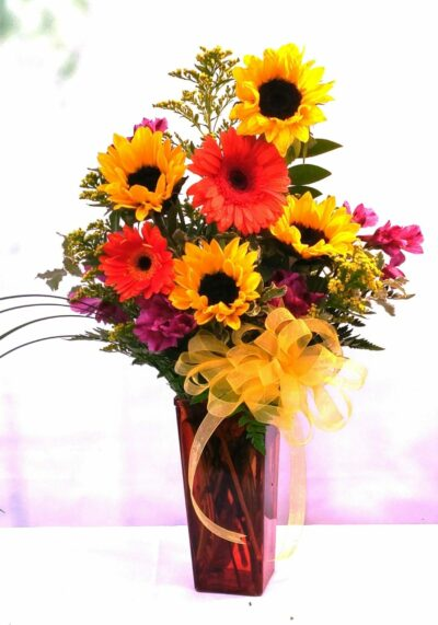 NEXT DAY DELIVERY Fiesta Sunshine Bouquet (V-1042)
