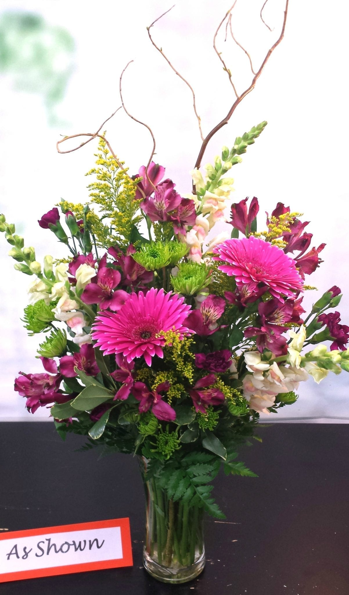 SAME DAY DELIVERY Gerbera Daisy Garden Bouquet