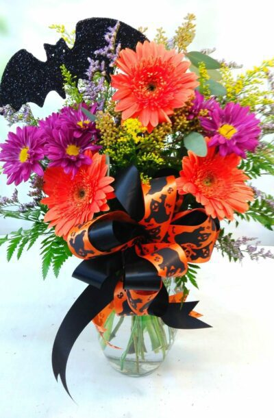 Halloween Gerbera Bouquet