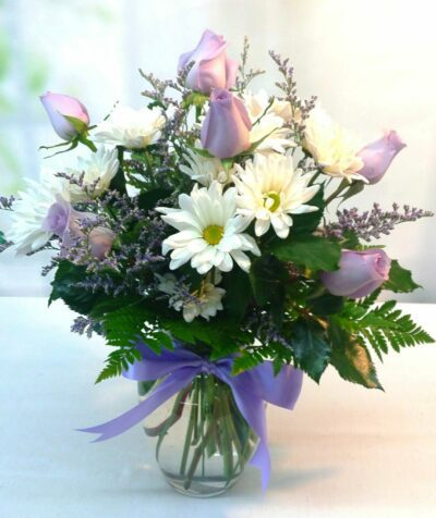 SAME DAY DELIVERY Lavender Daisy Bouquet