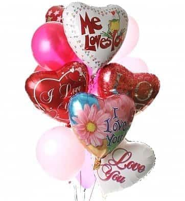 Love You More Balloon Bouquet