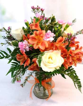 SAME DAY DELIVERY Orange Jubilee Bouquet