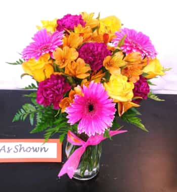 SAME DAY DELIVERY Orange Sherbert Bouquet