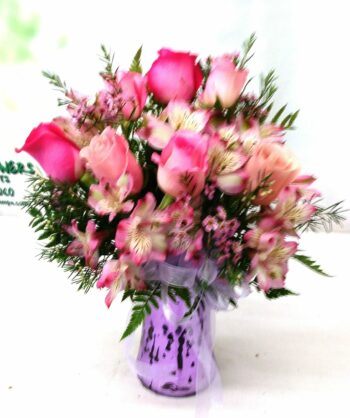 SAME DAY DELIVERY Precious Pink Bouquet