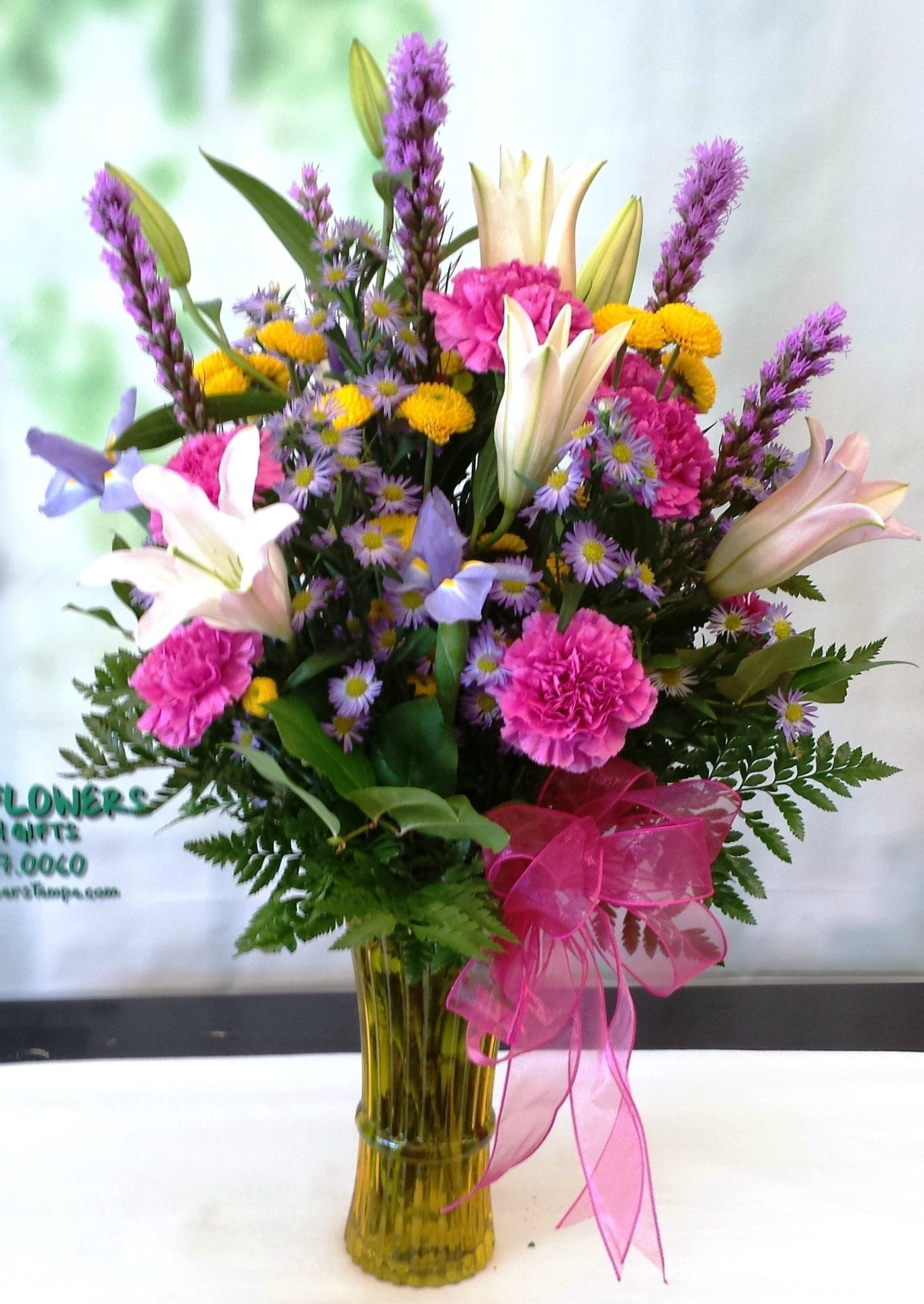 SAME DAY DELIVERY Pretty in Pink Lily Bouquet