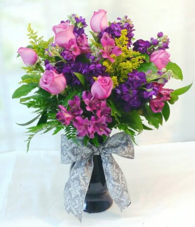 SAME DAY DELIVERY Purple Lovers French Bouquet