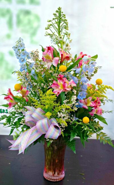 SAME DAY DELIVERY Spring Fields Celebration Bouquet