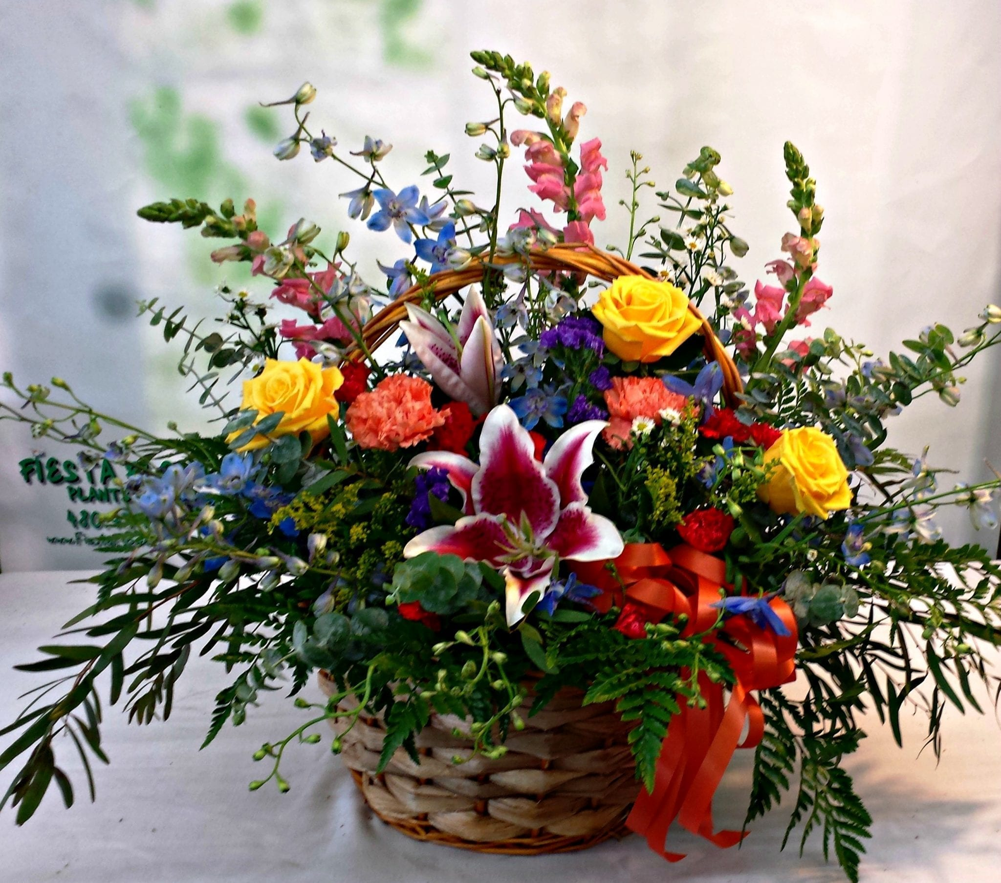 Country Meadow Basket (B-4002)