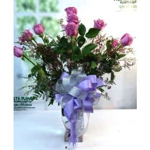 SAME DAY DELIVERY Lavender Rose Celebration