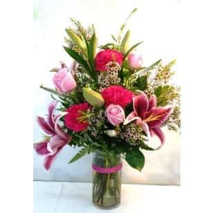 SAME DAY DELIVERY Pink Paradise Bouquet